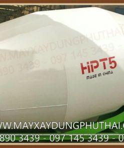 Bồn trộn bê tông thủy lực 5m3 (HPT5) giá rẻ