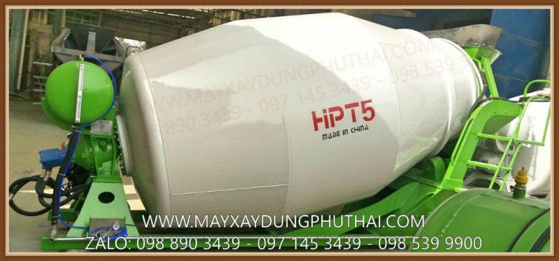 Bồn trộn thủy lực HPT5 công suất 5m3