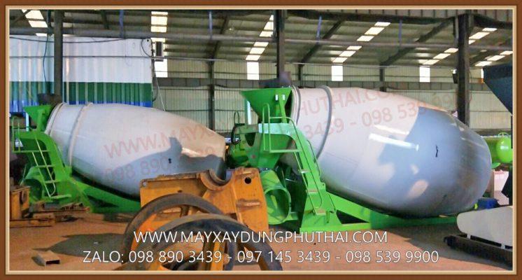 Bồn trộn thủy lực HPT5 giá rẻ, công suất trộn 5m3