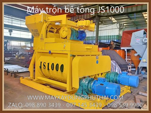 Máy trộn bê tông cưỡng bức JS1000