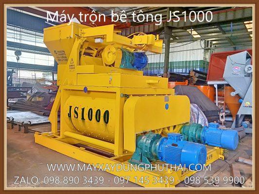 Hình ảnh máy trộn bê tông JS1000 chất lượng cao
