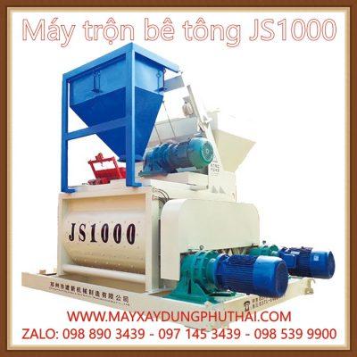Cối trộn bê tông cưỡng bức JS1000