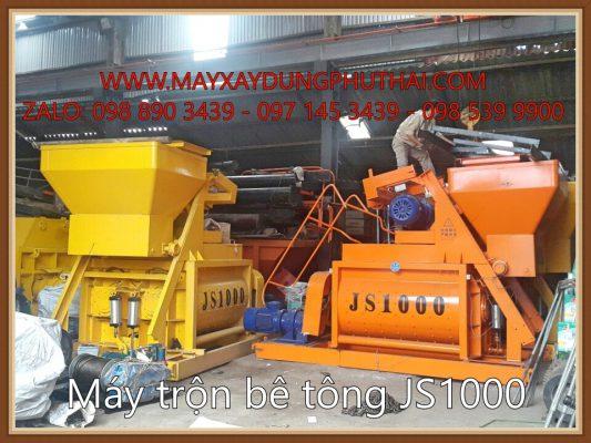 Lắp đặt cối trộn JS1000 giá rẻ