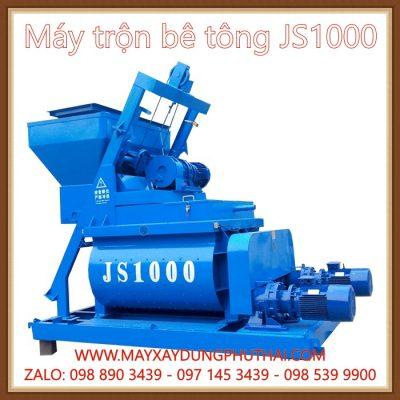 Máy trộn bê tông JS1000 chính hãng
