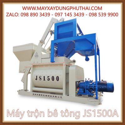 Phân phối Máy trộn bê tông JS1500A chính hãng