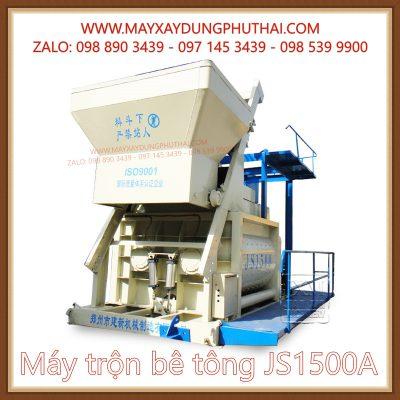 Máy trộn bê tông JS1500A chính hãng