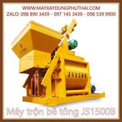 Máy trộn bê tông JS1500B chính hãng