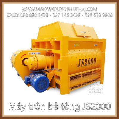 Cối trộn bê tông JS2000 giá rẻ