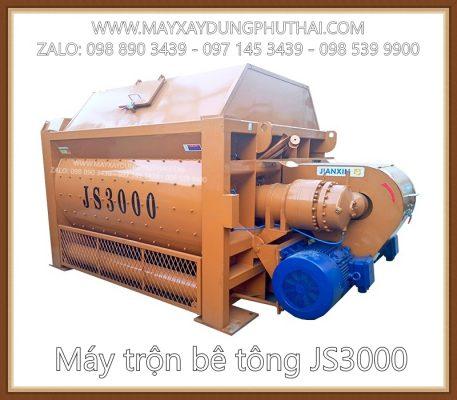 Máy trộn bê tông JS3000 giá ưu đãi hấp dẫn
