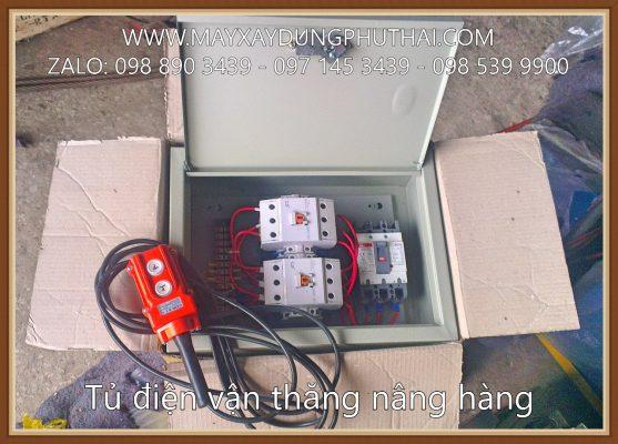 Tủ điện điều khiển vận thăng chở hàng 5 tạ