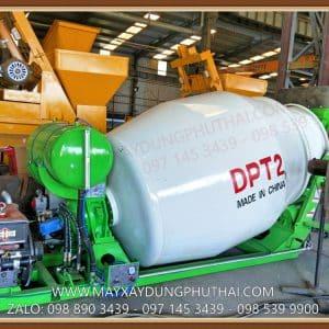 Bồn trộn bê tông diesel 2m3 Model: DPT2