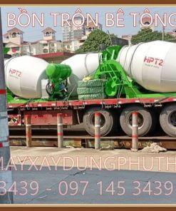 Nhập khẩu bồn trộn bê tông thủy lực