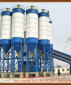 Sản xuất silo xi măng