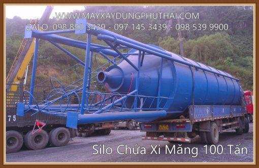Sản xuất silo xi măng 100 tấn