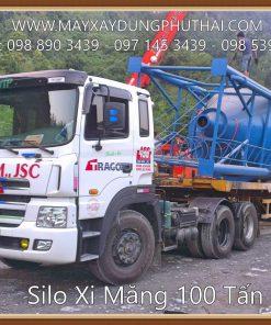 Silo chứa xi măng 100 tấn