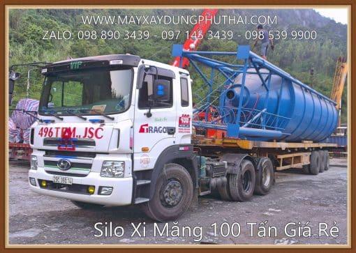 Silo xi măng 100 tấn