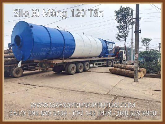 Silo Xi măng 120 tấn