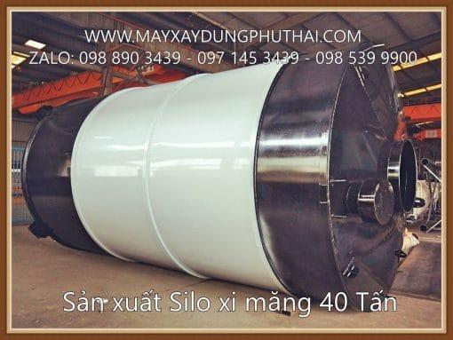 Silo Xi Mang 40 Tan