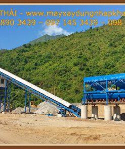 Trạm trộn bê tông tươi HZS90