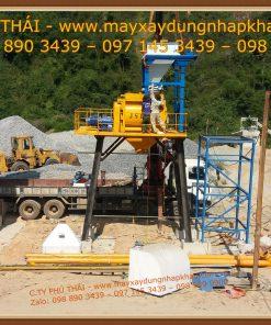 Lắp đặt trạm trộn bê tông HSZ90