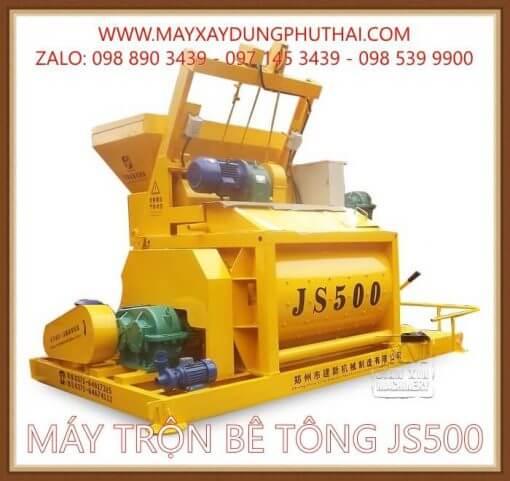 Máy trộn cưỡng bức JS500