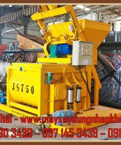 Máy trộn cưỡng bức JS750