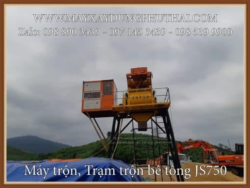 Máy trộn bê tông JS750