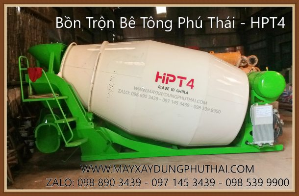 Bán Bồn Trộn Bê Tông HPT4 giá rẻ nhất