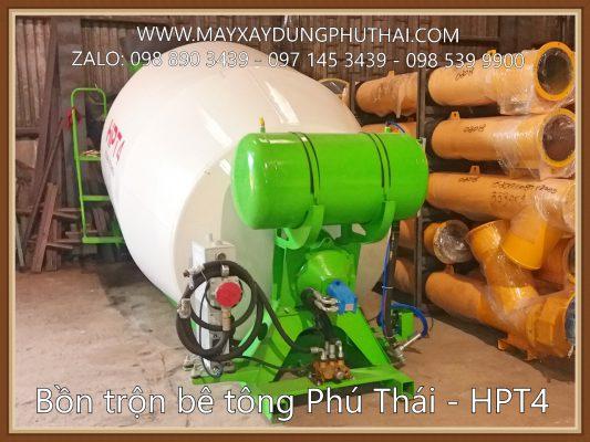 Bồn trộn thủy lực HPT4 (4m3)