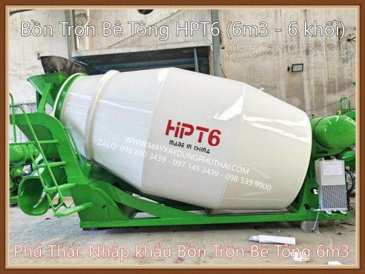 Giá Bồn Trộn Bê Tông HPT6 Chính Hãng 100%