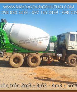 Lắp đặt bồn trộn 6m3 lên xe tải Hyundai