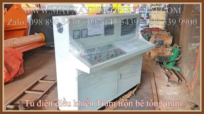 Tủ điện điều khiển trạm trộn JS500