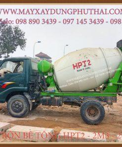Bồn trộn thủy lực HPT2