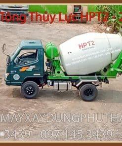 Lắp đặt bồn trộn bê tông 2m3 lên xe tải