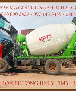 Bồn trộn bê tông thủy lực HPT3