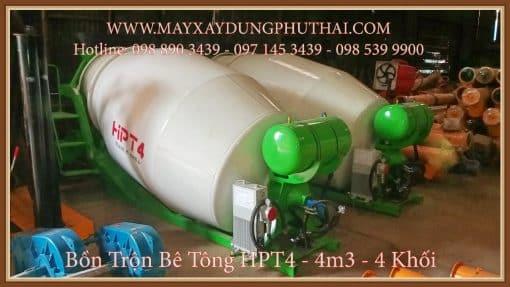 Bồn trộn bê tông HPT4