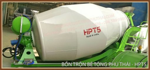 Bồn trộn thủy lực HPT5