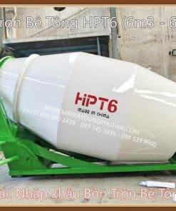 Bồn trộn bê tông thủy lực HPT6