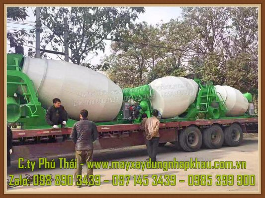 Nhập khẩu bồn trộn HPT6